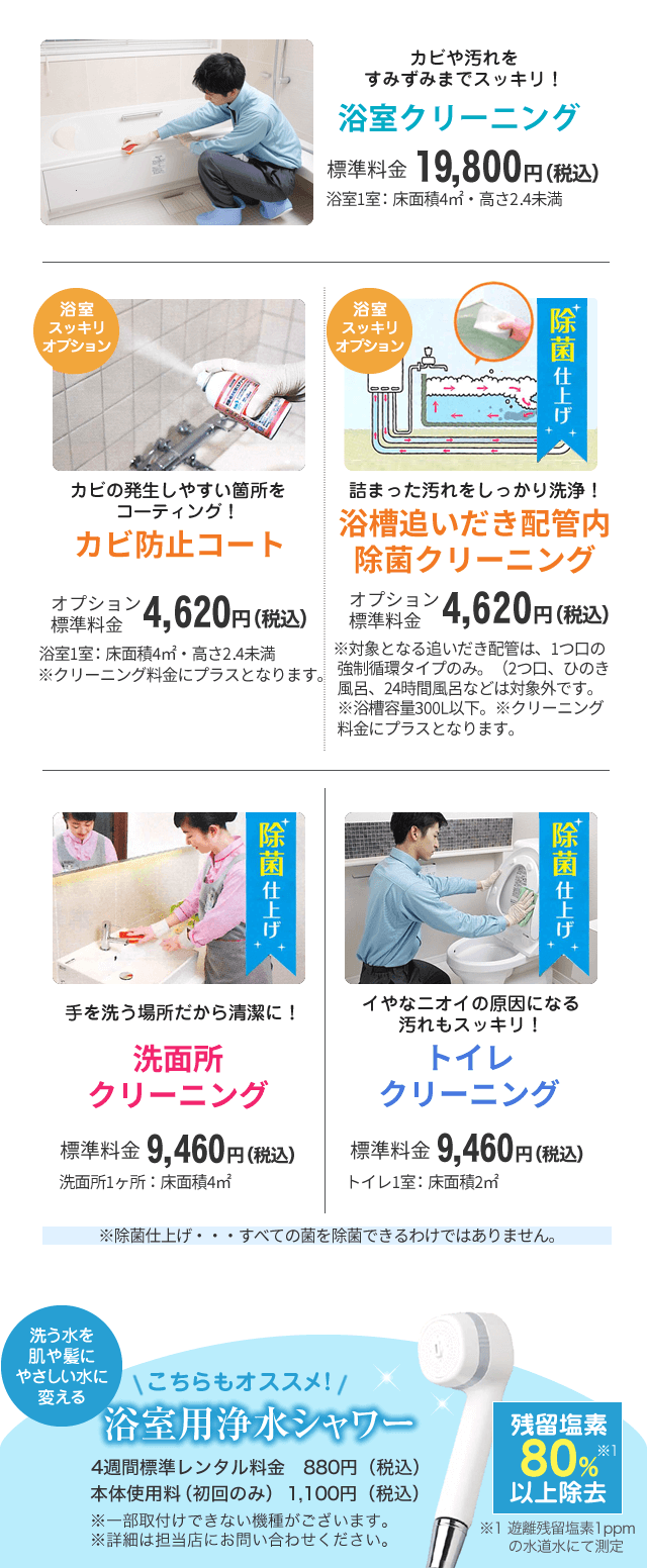 夏の浴室セットキャンペーン 3