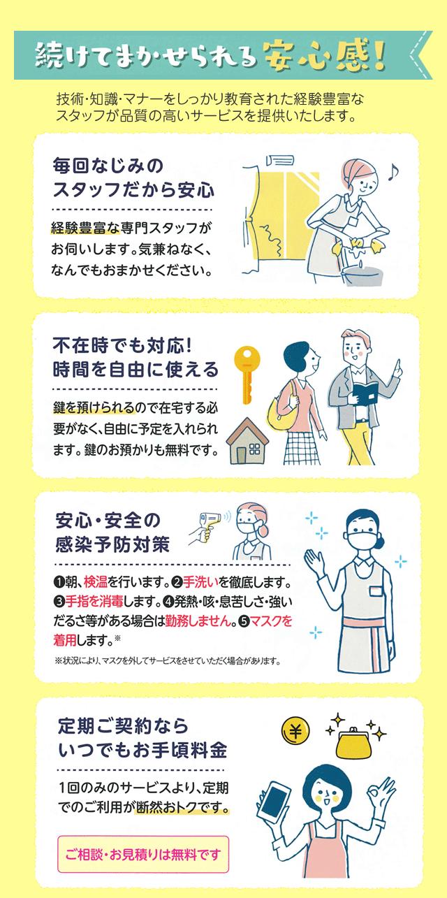 家事おまかせ習慣応援キャンペーン 3